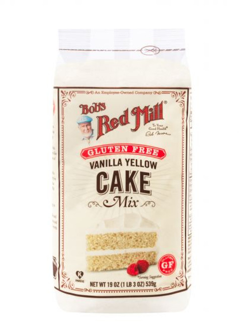 Bobs Red Mill GF Vanilla Cake Mix 19OZ