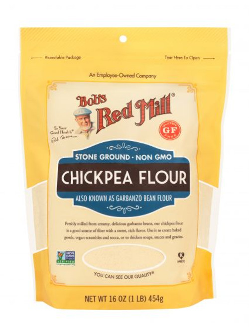 Bobs Red Mill Garbanzo Bean Flour 16 Oz