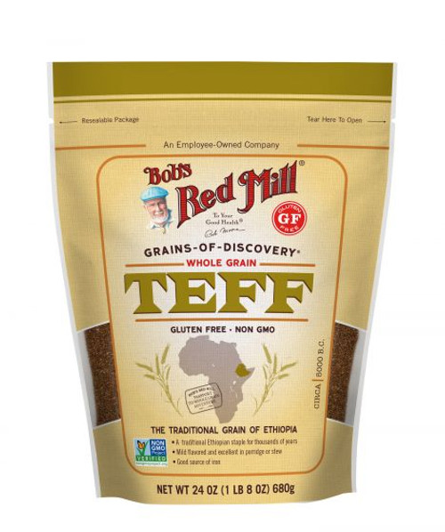 Bobs Red Mill Whole Grain Teff