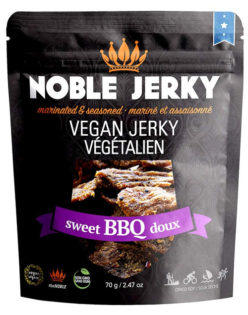 Noble Vegan Jerky - Sweet BBQ