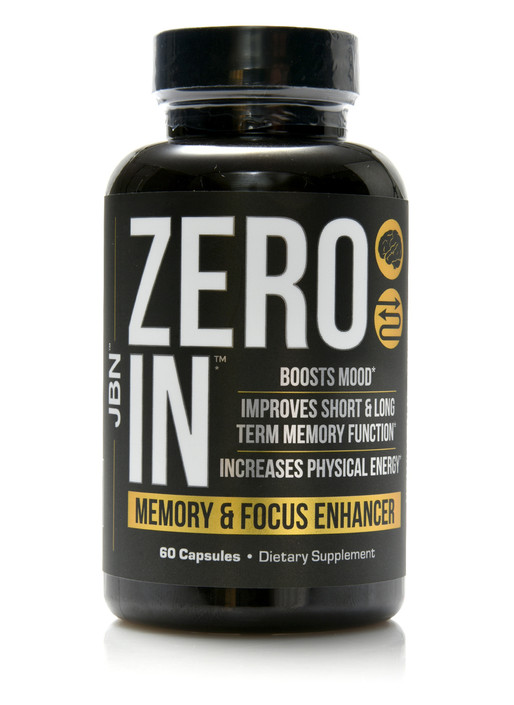 Zero In™ - Memory & Focus Enhancer - 60 caps