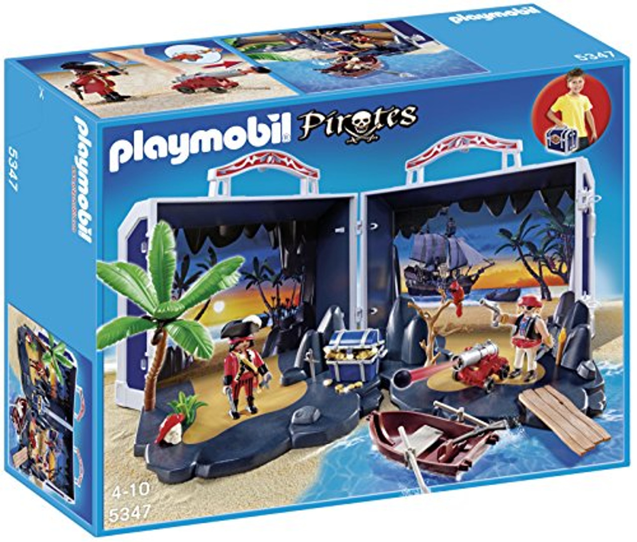 Calendrier De Lavent Playmobil Pirates.Playmobil Pirate Treasure Chest Playset