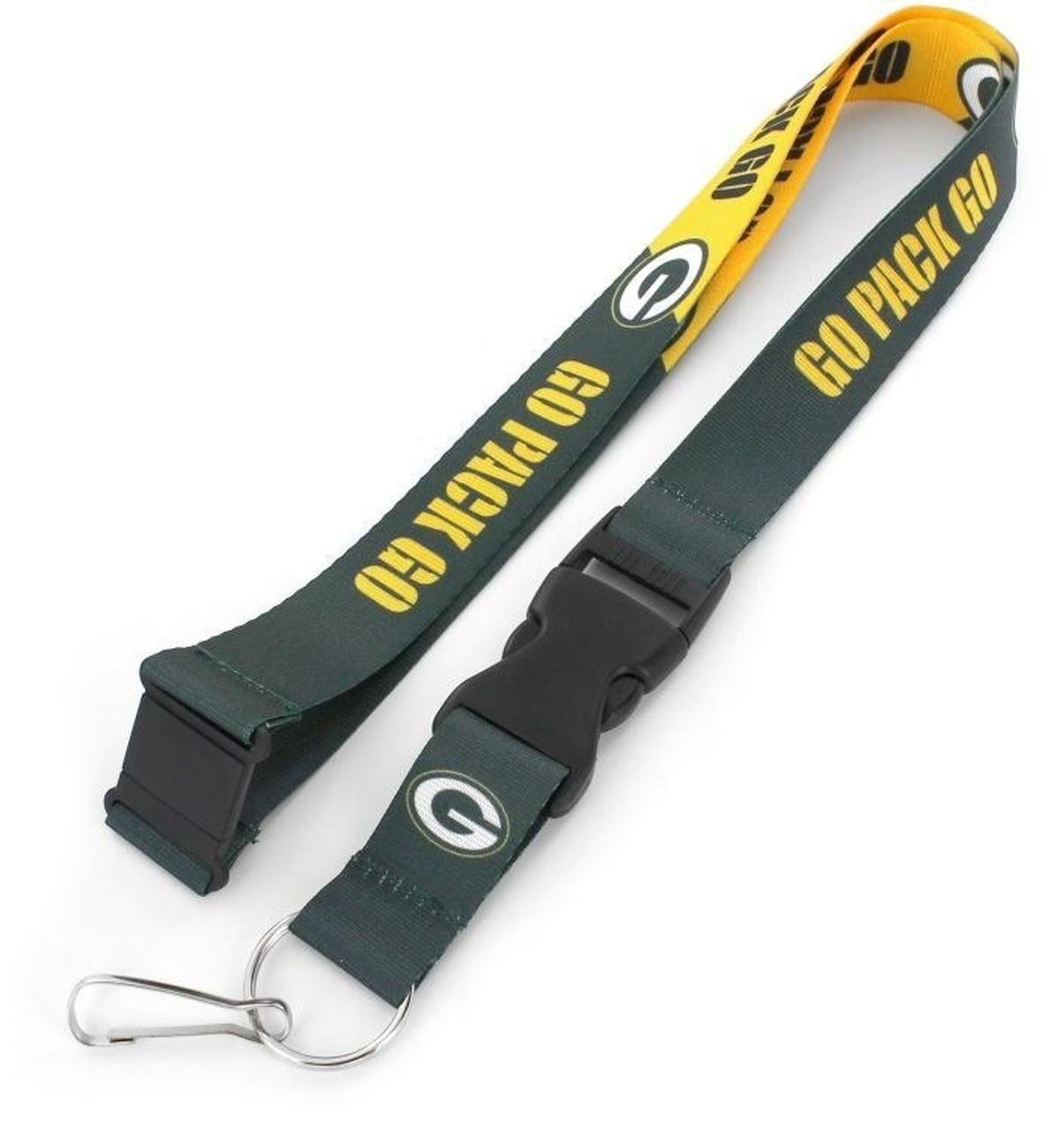 aminco Green Bay Packers NFL Football Lanyard