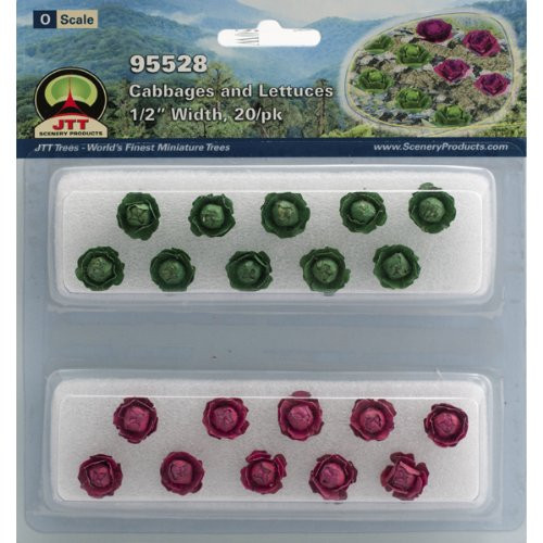 JTT Scenery Products Gardening Plants Lily Pads O Scale Hobby Train Sceneries