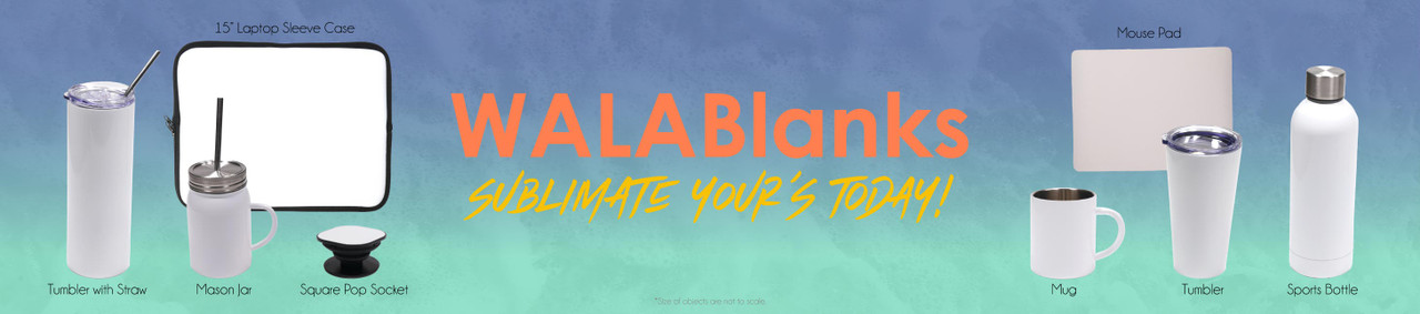 WALABlanks sublimation blanks