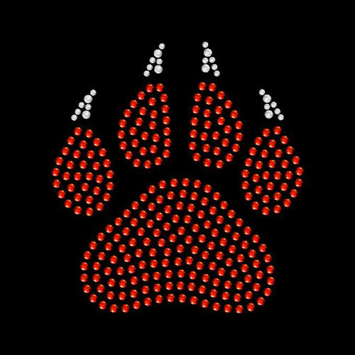 Small Paw Claw Red