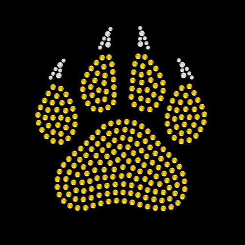 Small Paw Claw Gold