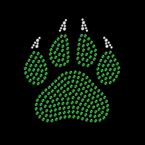 Small Paw Claw Green