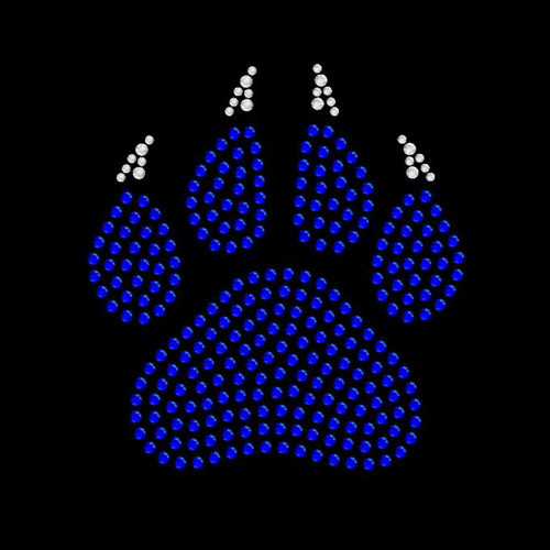 Small Paw Claw Royal Blue