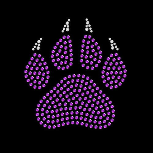 Small Paw Claw Purple