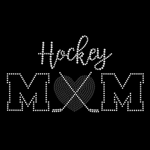 Hockey Mom Heart