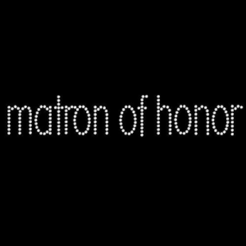 Matron of Honor Simple - 5 Pack