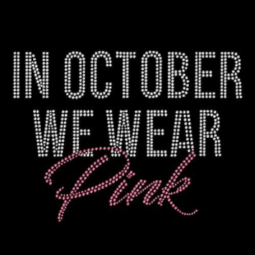 In October Pink