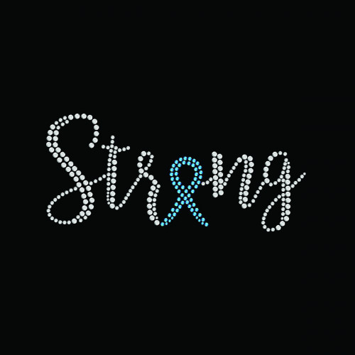 Strong Ribbon Teal - 5 Pack