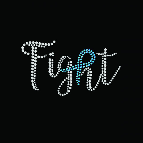 Fight Ribbon Teal - 5 Pack