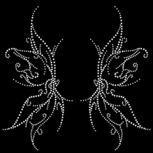 Gothic Wings Crystal - Pack of 5