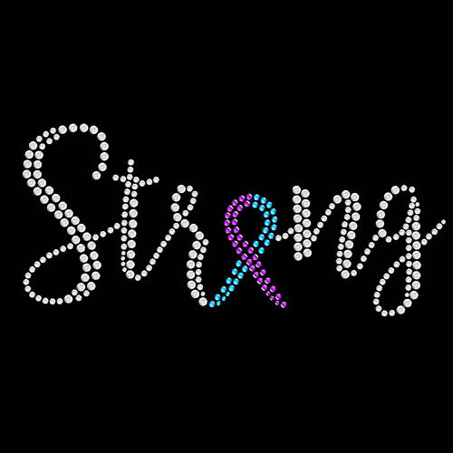 Suicide Awareness Strong Ribbon