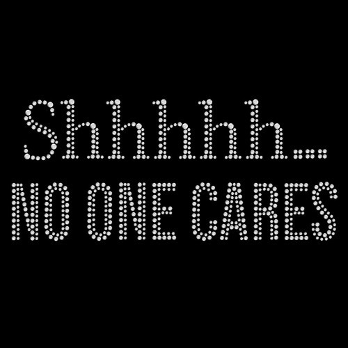 No One Cares - Pack of 5