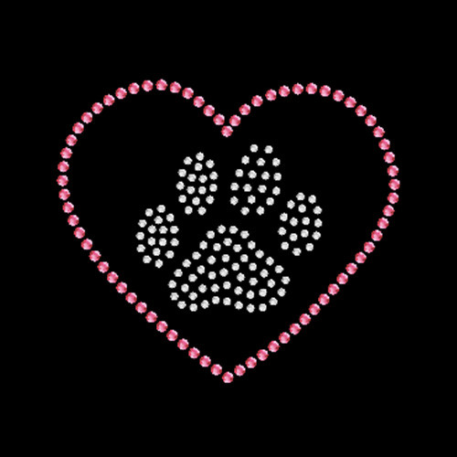 Paw Heart Pink