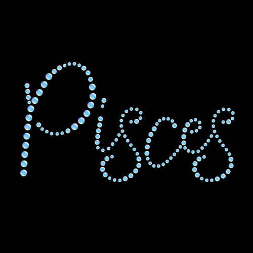 Pisces Text - 5 Pack