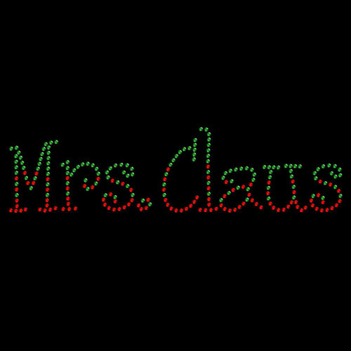 Mrs Claus Colored - 5 Pack