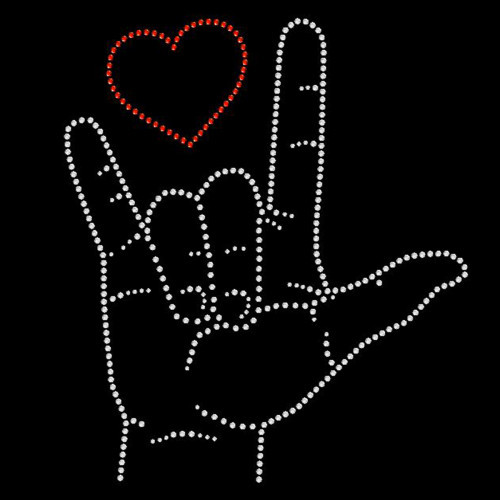 Sign Language I love you - 5 Pack