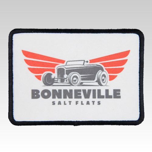 Large Rectangle Patch Blank for Heat Transfer Dye Sublimation