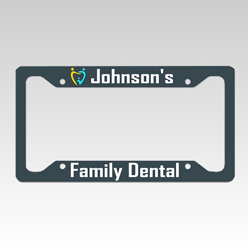 UNISUB License Plate for Heat Transfer Dye Sublimation