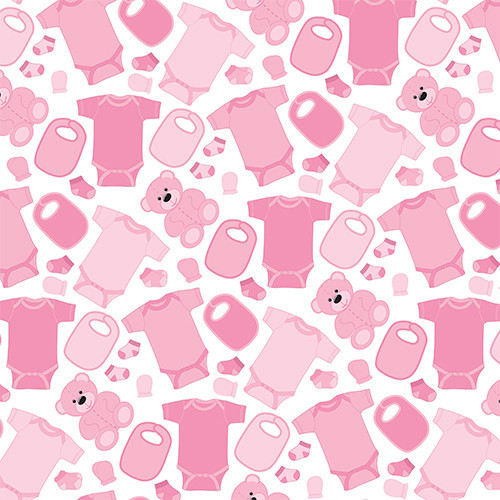 Baby Clothes Pink HTV