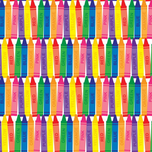 Color Crayons HTV
