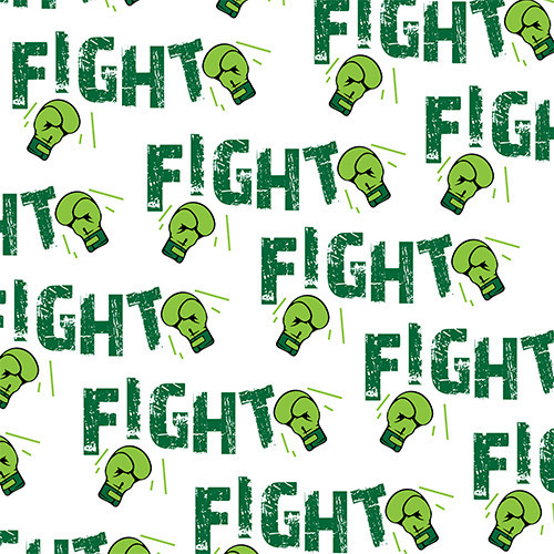 Fight Cancer Green HTV