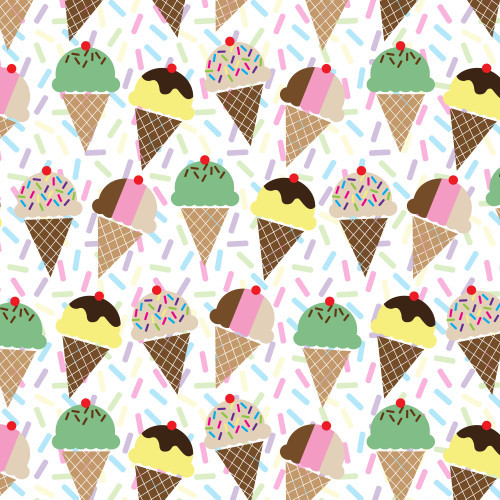 Ice Cream Cones HTV