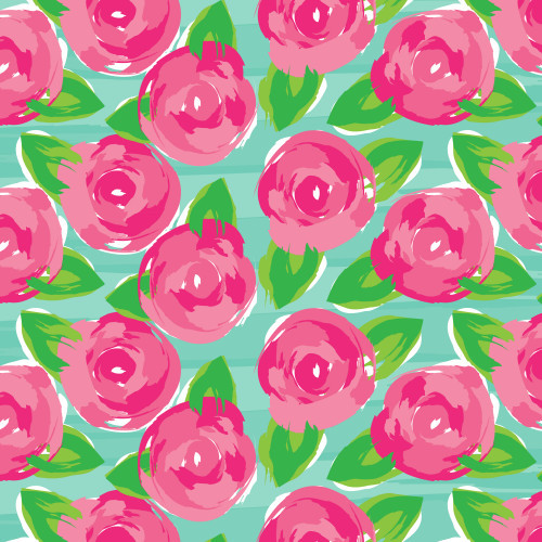 Water Roses HTV