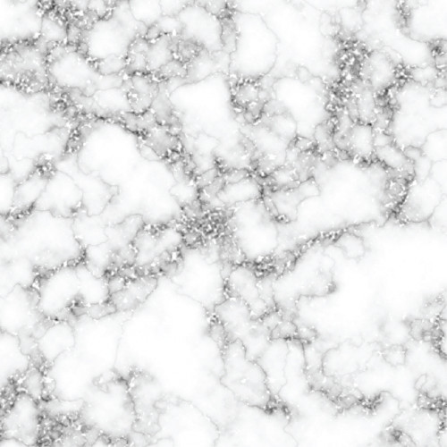 Silver Glitter Marble HTV