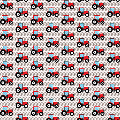 Tractors Red HTV