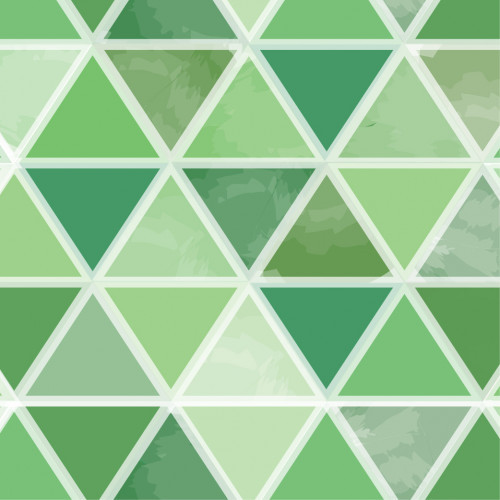 Watercolor Triangles Green PSV