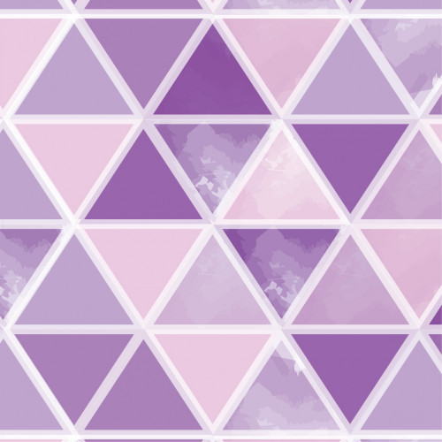 Watercolor Triangles Purple PSV