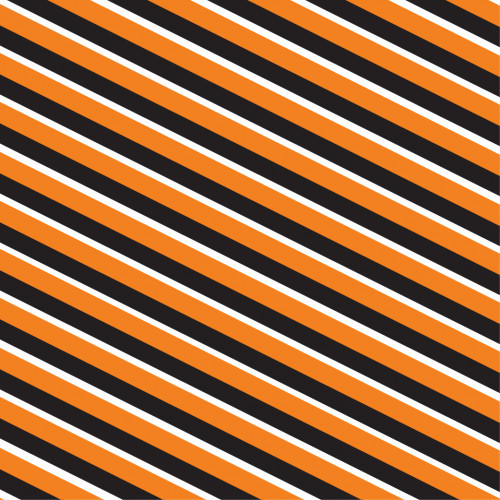 Diagonal Stripes Halloween PSV