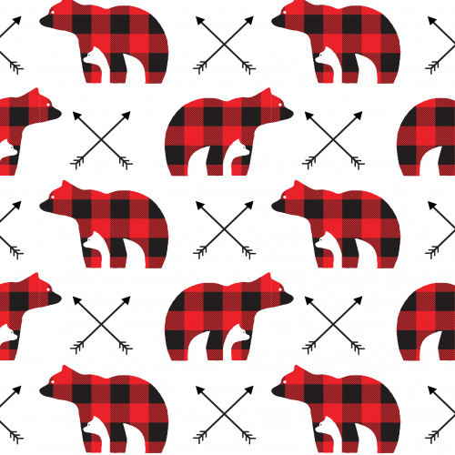 Mama Bear Plaid Arrows PSV