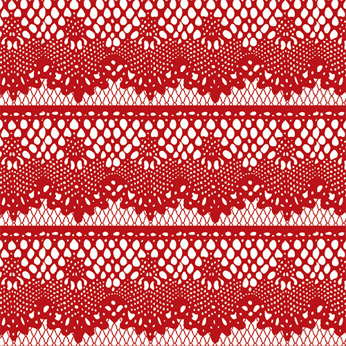 Lace Rows Red PSV