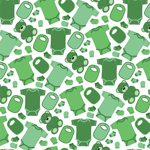 Baby Clothes Green PSV