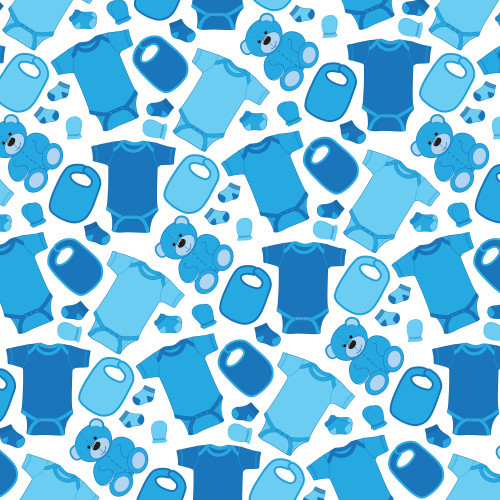 Baby Clothes Blue PSV