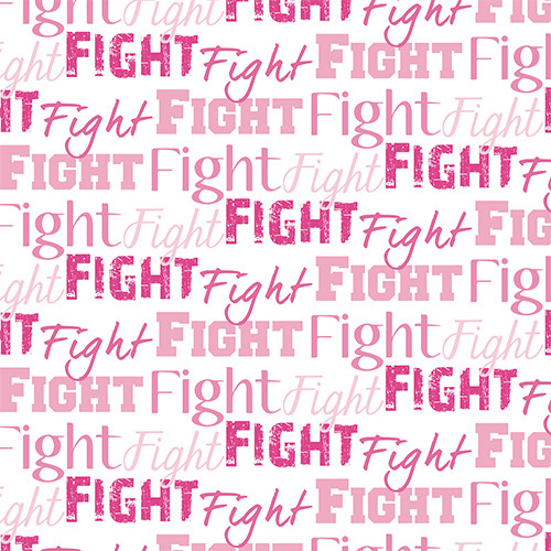 Fight Text Pink PSV