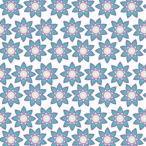 Summer Mandala White PSV