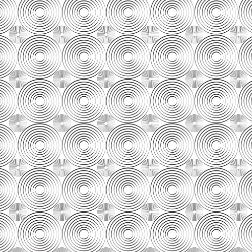 Illusion Moving Circles on White PSV