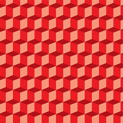 Illusion Cubes Red PSV