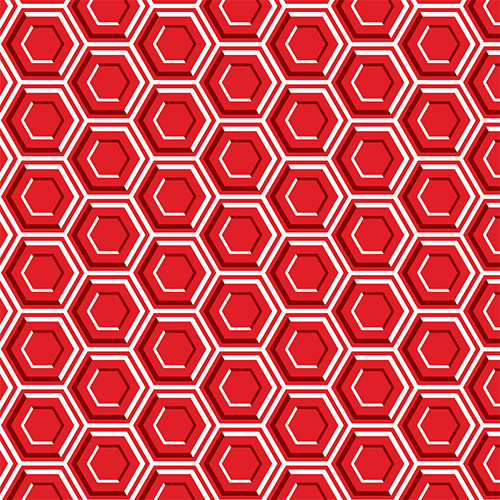 Red Hexagon PSV
