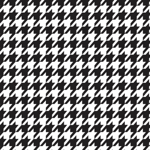 Houndstooth Black PSV