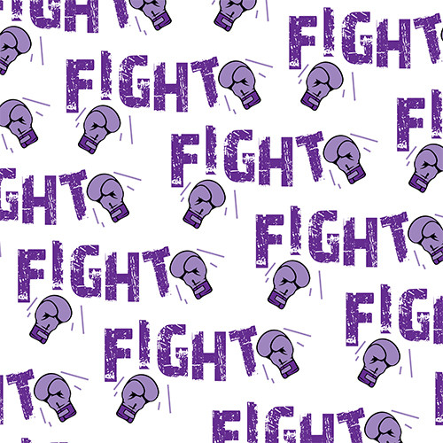 Fight Cancer Purple PSV