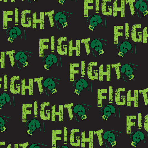 Fight Cancer Green/Black